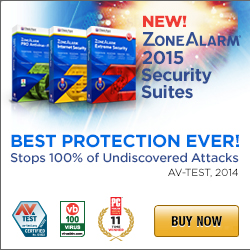 Zone Alarm 2015 Product